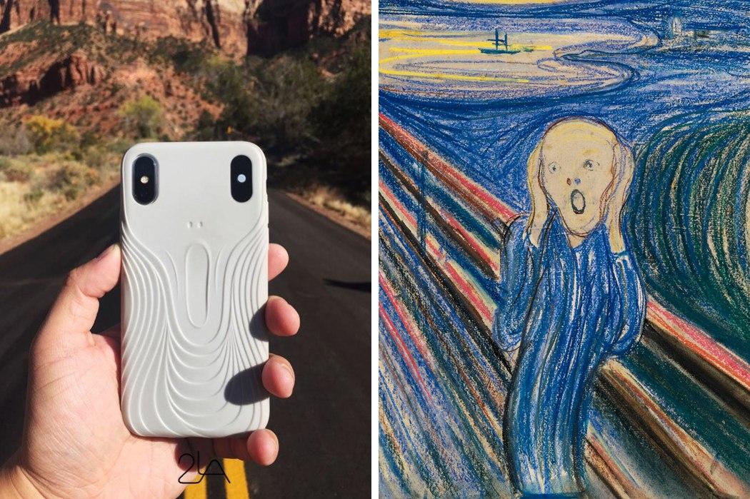 iphone scream case