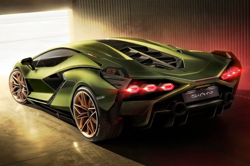 The Lamborghini Sian Is Out Of This World 123 Design Blog